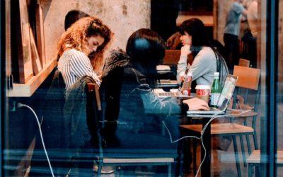 Coworking vs Cafetería