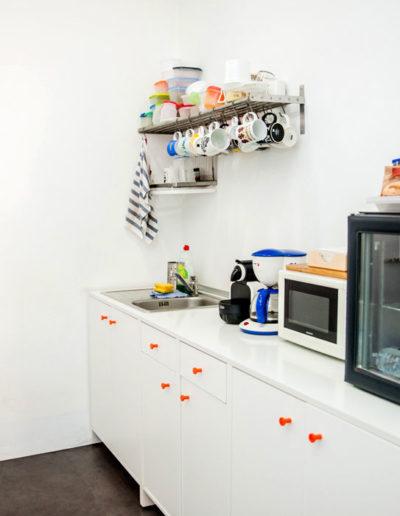 cocina del coworking